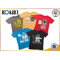 China Custom Personalized Kids T Shirts With Various Colors Soft Material on sale