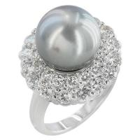 Best Pearl Jewelry of Crystal Fashion Jewelry Ring (SIR0368R-C82) wholesale