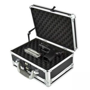 Best Custom Size Aluminum Hard Case Gun Storage Box With Combination Lock wholesale