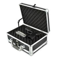 Buy cheap Custom Size Aluminum Hard Case Gun Storage Box With Combination Lock from wholesalers