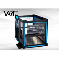Buy cheap Multiplayer 4 Person VR Shooting Simulator Game Machine English Version from wholesalers
