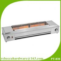 Best Kitchen equipment / factory price stainless steel smokelesss bbq gas grill with fan wholesale