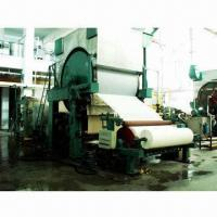 Best Tissue Paper-making Machine with Waste Paper/Virgin Pulp/Bagasse and Wheat Straw Raw Material wholesale