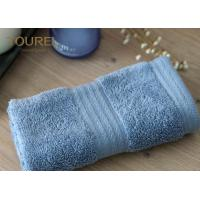 Simple face  towel with platinum dobby pattern fabrication size 32cm by 32cm