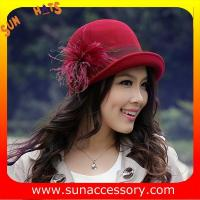 Best 2960405 Sun Accessory customized  winner  trendy fashion wool felt clothe  hats  ,women hats and caps wholesaling wholesale