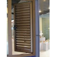 Buy cheap 0.8-1.0mm profile thickness non-corrosion aluminium louver windows with strength from wholesalers