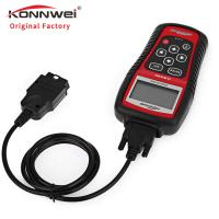 China Portable Konnwei Kw808 Obd2 Diagnostic Scan Tool 2.8 Inches 5 Languages on sale