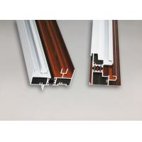 Best Wood Finish Structural Aluminium Extrusions Windows Profile Anti Corrosion wholesale