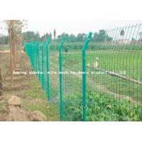 China Steel Bar Welded Wire Mesh Fencing , Galvanized Metal Fence Panels For Highway on sale