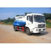 China Easy Operation Sewage Tanker Truck 10000L Large Capacity With Good Performance on sale