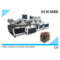 Best PLC Automatic Corrugation Machine Electric For Inserting Cardboard Partition wholesale