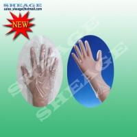 Best Disposable Gloves, CPE Plastic Gloves, Chlorinated Polyethylene Gloves, SFD-B212 wholesale