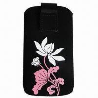 Best Mobile Phone Pouch with M Size, Suitable for iPhone 3G/4G/4GS, HTC Desire, Nokia N8 and Samsung wholesale