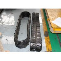 Best Mini Excavator Rubber Tracks 3360mm Overall Length For Skid Steer Loaders wholesale
