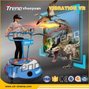 DC Motor Theme Park  Vibrating VR Simulator Standing For Racking Club