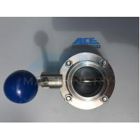 Best Stainless Steel Manual Welded/Threaded Butterfly Valve (ACE-DF-4D) wholesale