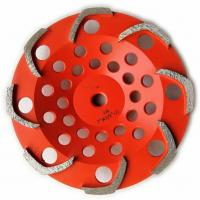 Best 8 segments L shape Top quality Diamond Grinding Cup Wheel for Griinding Concrete wholesale
