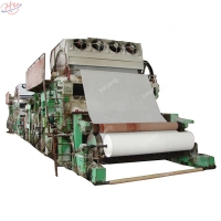 China Fourdrinier 4200mm 0.4Mpa Facial Tissue Paper Machine on sale