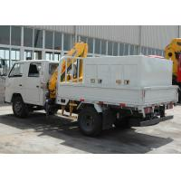 China Durable 2T Hydraulic Driver Lorry Mounted Crane, Cargo Crane Truck on sale
