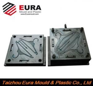 Best EURA plastic coat hanger mould made in China/OEM Custom plastic injection coat hanger mold making wholesale