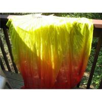 China Belly dance silk fan veil, fan veil, silk veil, fan fabric, belly dance, veil fan, dance fan, silk f on sale