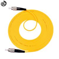 China Yellow 3 Meter Upc Fc Sc Patch Cord , Fiber Optic Drop Cable Fc-Fc Custom Lengths on sale