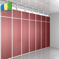 Best Movable Wood Folding Partition Walls For Conference Room Decoration wholesale