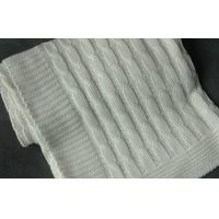 China Knitted 100% Organic Cotton Baby Blankets on sale