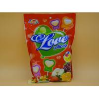 China Heart Shape Lollipop Healthy Hard Candy / Low Cal Candy For Children baby candy on sale