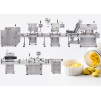 China 24 Lane Full Automatic Tablet Capsule Counting Bottling Packing Machine Production Line on sale