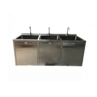 Best OT Room Medical Stainless Steel Sinks With Big Bowl And Sensor Faucet wholesale