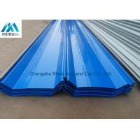 China Industrial Galvanized Corrugated Roofing Sheets Weather Proof Long Life Span on sale