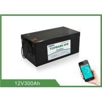 Best Home Energy Storage Battery 12V300Ah  , 150 ~ 200A Discharge , 4pcs In series For 48V wholesale
