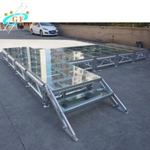 Best Acrylic Plexiglass Stage Platform 2m Adjustable Height wholesale