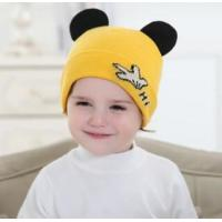 Children's hats knitted hats Korean version of the palm cute hat men and women baby eaves hat wholesale