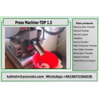 China Press Machine's User Manue TDP 1.5 TABLET PRESS Machine For 5mm 6mm 8mm Pills on sale