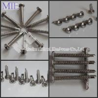 Best Stainless Steel 410 304 and 316 Pan Head Self Drilling Screw wholesale