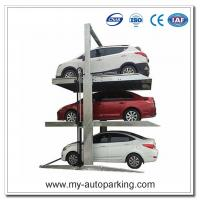 Best Two Post Triple Parking Lift for 3 Cars Hydraulic Garage Storage Lift wholesale