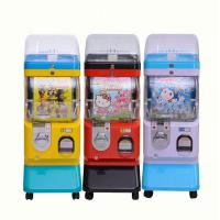 China Coin Operated Capsule Vending Machine Candy Gumball Vending Machine on sale
