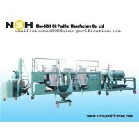 China Oil recovery, oil purifier, oil recycling, Sino-NSH used lubricant oil recovery plant on sale