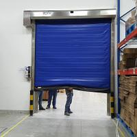 China Cold Room Thermal Insulated High Speed Fast Roll up Door for Freezers on sale