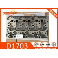 Best Casting Iron Diesel Engine Car Cylinder Head For Kubota D1703B and D1703A wholesale