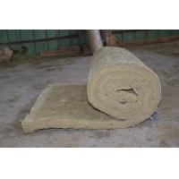Best Residential Rockwool Insulation Blanket With Wire Mesh / Fiberglass Cloth wholesale