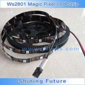 China addressable led strip WS2801 5V 32LEDS 32IC individually on sale