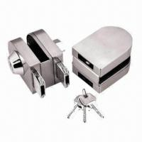 Buy cheap Glass Fitting Lock, Suitable for 8 to 12mm Tempered Doors, Made of Stainless from wholesalers