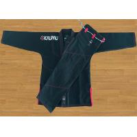 Best Academy Training Black Brazilian Jiu Jitsu Uniform With Pre - Shrunk Cotton wholesale