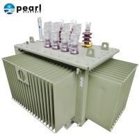 Best Industrial Three Phase Oil Immersed Transformer With ONAN Cooling Type wholesale