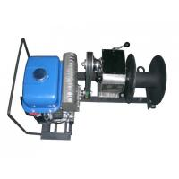 China Gas Powered Winch Cable Winch Puller 1 Ton Capacity Portable Type 15m / Min Fast Speed on sale