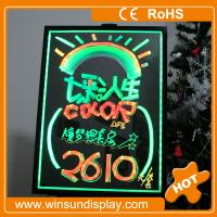 China sparkling led neon advertising board with top quality on sale