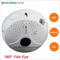 Best Digital PTZ 128g SD Card Recording HD 3MP CCTV Fisheye Camera wholesale